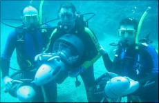 Diving instructor courses